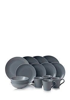 Royal Doulton Gordon Ramsay Dark Gray 16-Piece Dinnerware Set