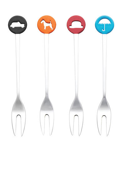 Royal Doulton Set of 4 Cocktail Forks - Online Only