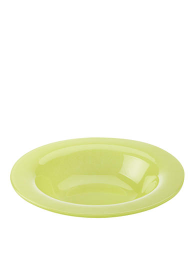 Maxwell & Williams Paint Rim Bowl Lime 8-in.