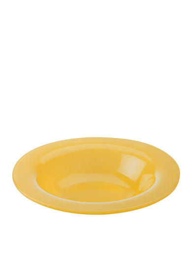 Maxwell & Williams Paint Rim Bowl Amber 8-in.