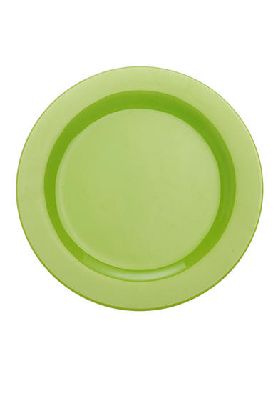 Maxwell & Williams Paint Rim Plate Lime 9-in.