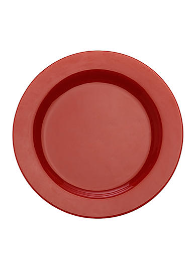 Maxwell & Williams Paint Rim Plate Red 9-in.
