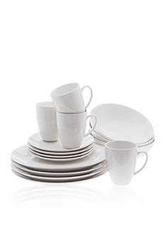 Maxwell & Williams White Basics 16-Piece Coupe Dinner Set