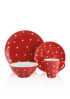 Maxwell & Williams Sprinkle Red Dot Dinnerware & Accessories