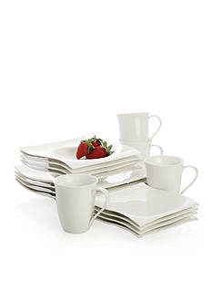Maxwell & Williams White Basics Motion 16-piece Dinnerware
