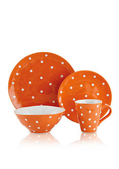 Maxwell & Williams Sprinkle Orange Dot Dinnerware & Accessories