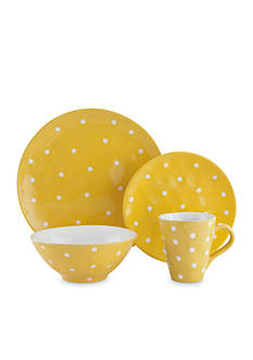 Maxwell & Williams Sprinkle Yellow Dot Dinnerware & Accessories