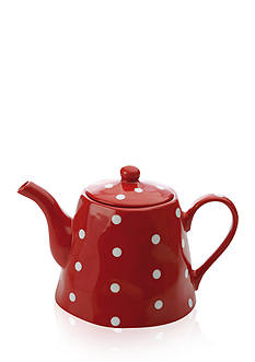 Maxwell & Williams SPRINKLE TEAPOT RED