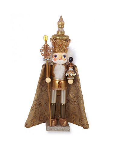 Kurt S. Adler Hollywood Gold King Nutcracker