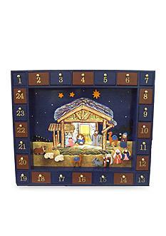Kurt S. Adler Nativity Advent Calendar