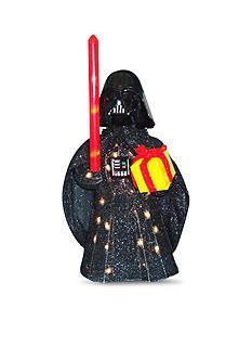 Kurt S. Adler Star Wars Darth Vader Light-Up Tinsel Lawn Decor