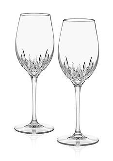 Waterford Lismore Essence White Wine Glasses Pair