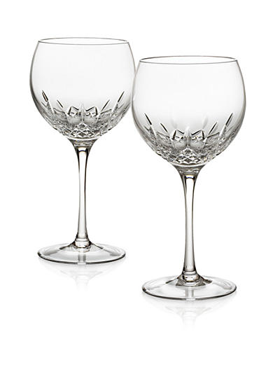 Waterford Lismore Essence Balloon Glasses Pair