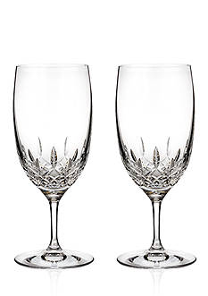 Waterford Lismore Essence Water Glass Pair