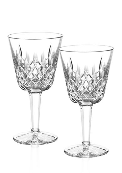 Waterford Lismore Claret Goblets 4-oz. Boxed Pair