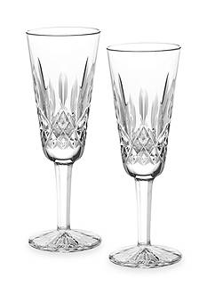 Waterford Lismore Champagne Flute Pair