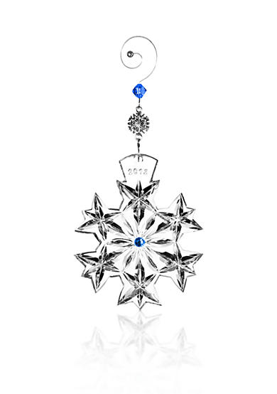 Waterford Snowflake Goodwill Wishes Ornament