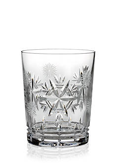 Waterford Double Old Fashioned Snowflake Wishes Health