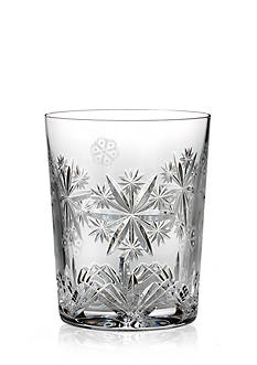 Waterford Crystal 2016 Snowflake Wishes Serenity Double Old Fashion