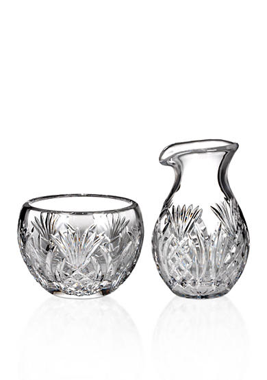 Waterford Pineapple Hospitality Sugar & Creamer Set