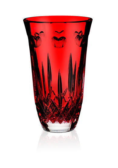 Waterford I Love Lismore Red 8 Vase