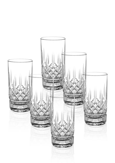 Waterford Lismore Set of 6 Boxed Highball