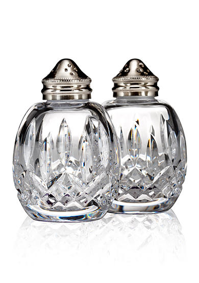 Waterford Lismore Classic Round Salt & Pepper