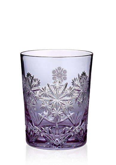 Waterford Crystal 2016 Snowflake Wishes Serenity Prestige Edition, Lavender Double Old Fashion