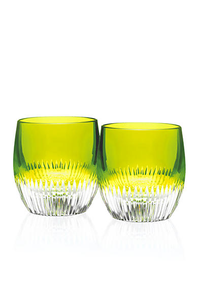 Waterford Mixology Neon Lime Tumbler, Pair