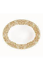 Lismore Lace Gold 9.5-in. Vegetable Bowl