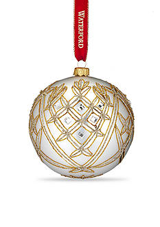 Waterford Holiday Heirlooms Opulence Avoca 5-in. Ball Ornament