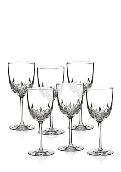 Waterford Lismore Encore Red Wine Goblet, Set of 6