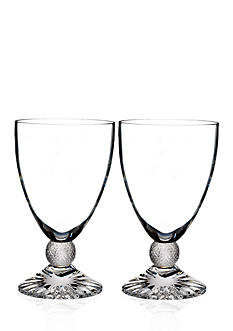 Waterford Town & Country Riverside Drive Set of 2 Wine Glasses