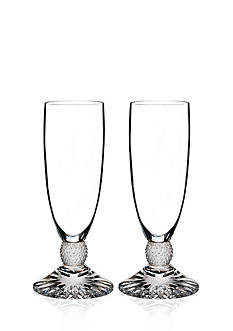 Waterford Town & Country Riverside Drive Set of 2 Flutes