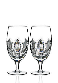 Waterford Dungarvan Set of 2 Iced Beverage Glasses