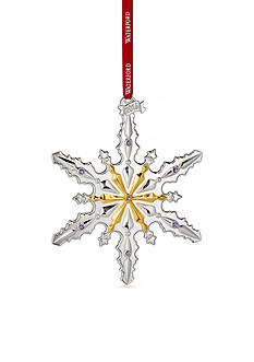 Waterford 2016 Silver Annual Snowflake Ornament
