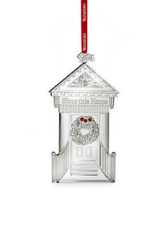 Waterford 2016 Silver Bless this Home Ornament