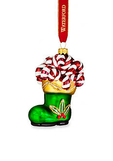 Waterford 2016 Holiday Heirloom Nostalgic Collection Santa's Boot Ornament