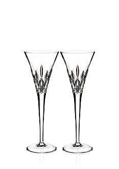 Waterford Crystal Lismore Pops Toasting Flute, Set of 2