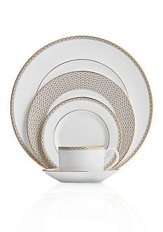 Waterford Lismore Diamond Gold Dinnerware