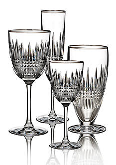 Waterford Lismore Diamond Platinum Stemware Collection
