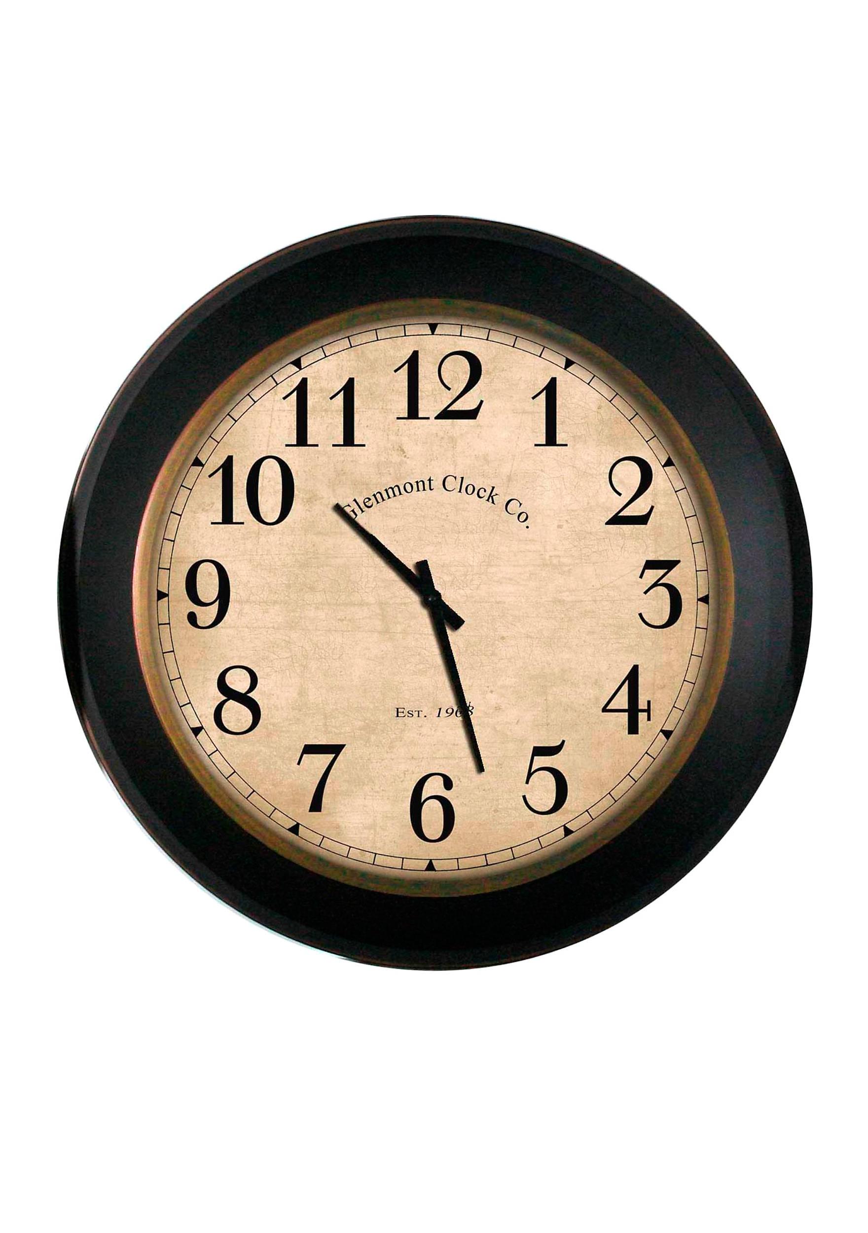 Clocks wall clocks kitchen clocks digital clocks more belk antique glenmont clock amipublicfo Choice Image