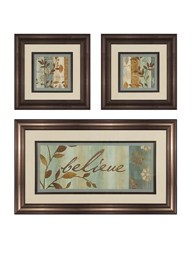 Patton Picture 3-piece Branch Silhouette Art Set - Online Only