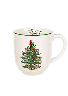 Royal Worcester Spode Christmas Tree Mug - 14-oz.