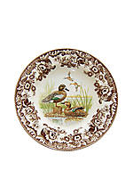 Woodland Blue Winged Teal Duck Salad Plate