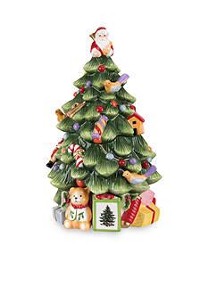 Royal Worcester Spode Figural Christmas Tree