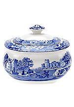 Blue Italian Covered Sugar Bowl 9 oz.