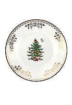 Christmas Tree Gold Collection Bread & Butter Plate 6-in.