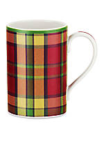 Glen Lodge Tartan Red Mug 12-oz. Set of 4