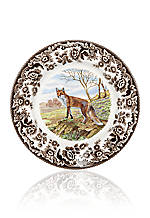 Salad Plate - Red Fox